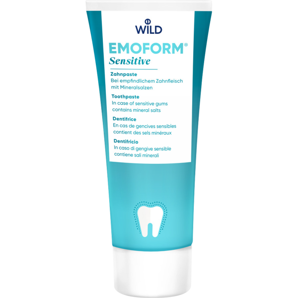 WILD Emoform Sensitive Zahnpasta: 75 ml