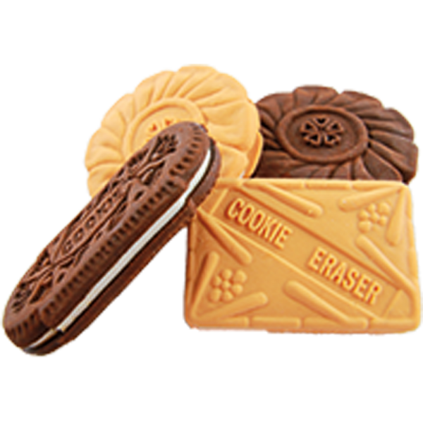 Mirus Mix Radierer: Kekse