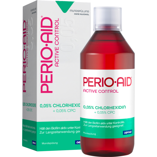 DENTAID PERIO-AID Active Control 0,05%: 500 ml