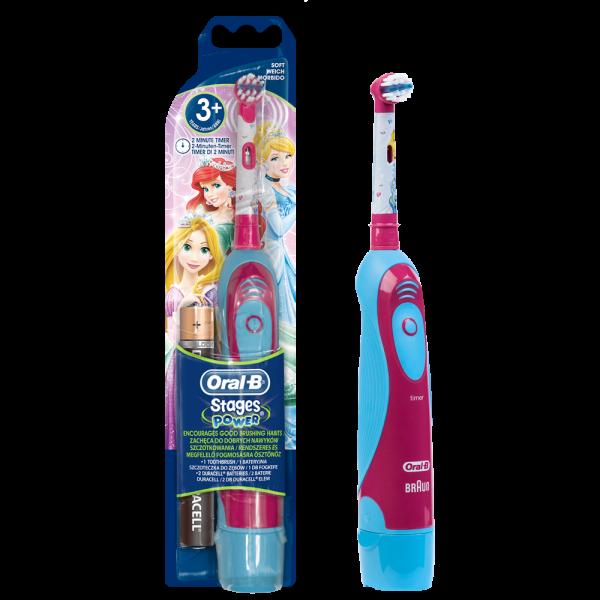 Oral-B Stages Power Batteriezahnbürste: Prinzessin