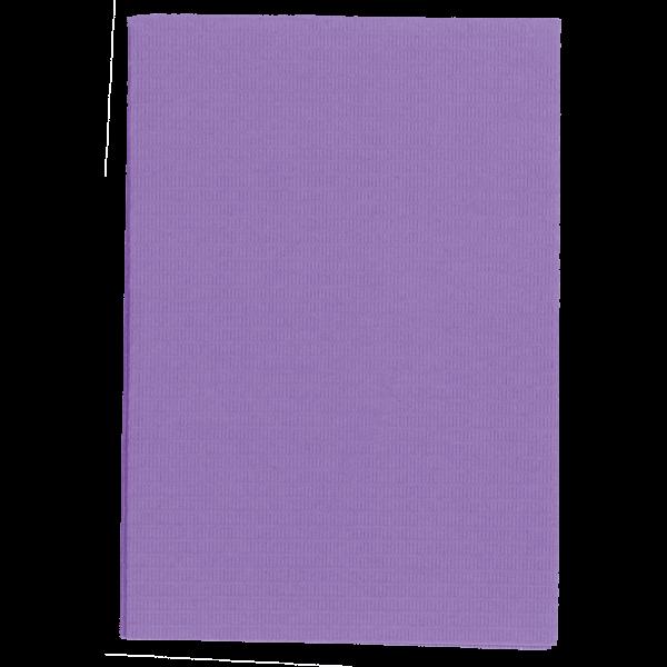 wellsabib Patientenservietten im Dispenser: 125 Stück, lila, 33 x 45 cm