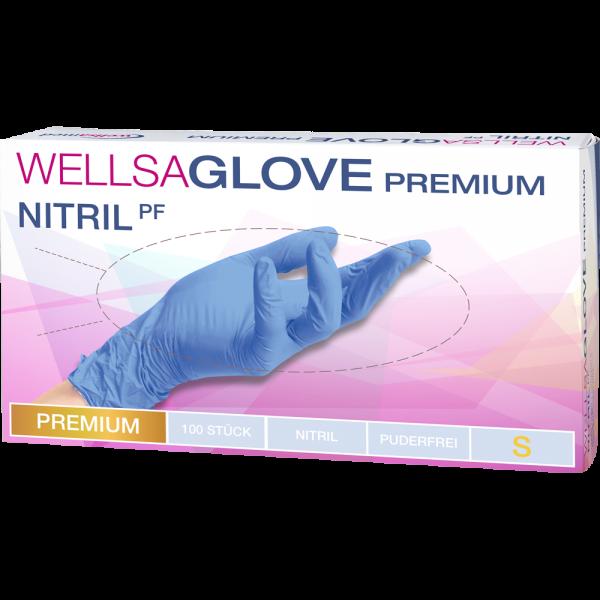 wellsaglove Untersuchungshandschuhe Premium Nitril: small