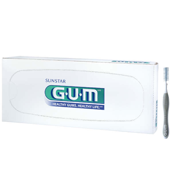 GUM TRAV-LER 1618, grau, 36 Stück