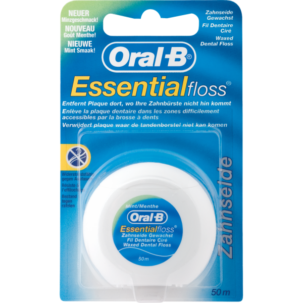 Oral-B Essentialfloss: mint gewachst