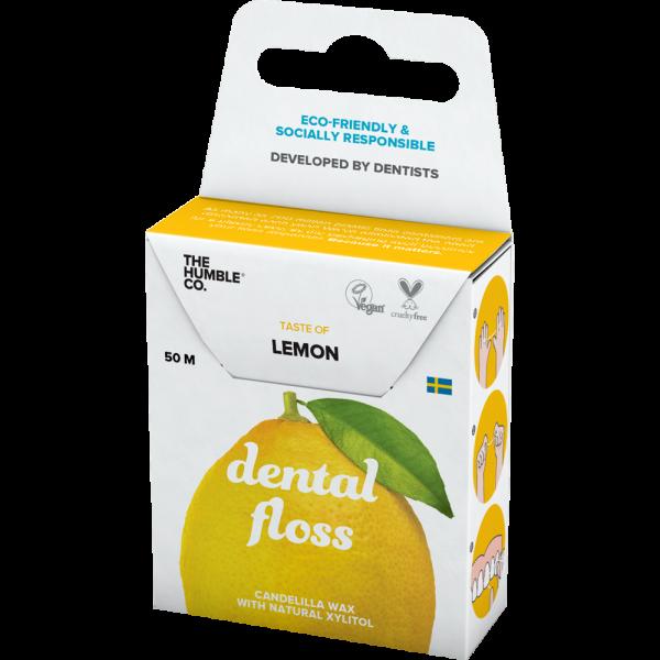 Humble Brush Zahnseide: Zitrone