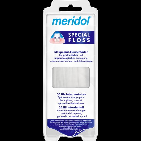 meridol Special Floss: 50 Stück