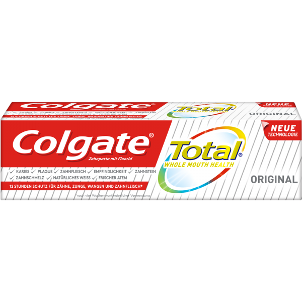 COLGATE Total: Zahnpasta Original, 75 ml