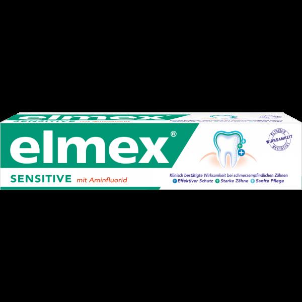 elmex SENSITIVE Plus Zahnpasta: 75 ml