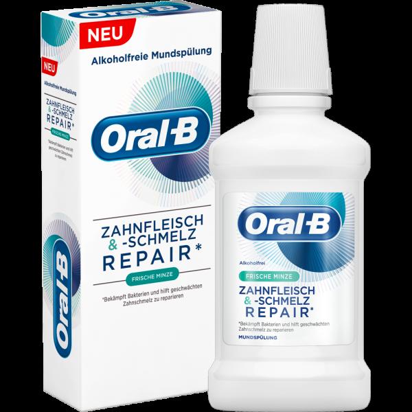 Oral-B Zahnfleisch & Zahnschmelz Repair Mundspülung Frische Minze