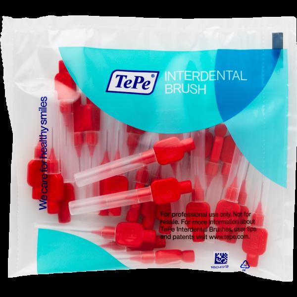 TePe Interdentalbürste - Original: rot / 0.5mm / 25 Stück