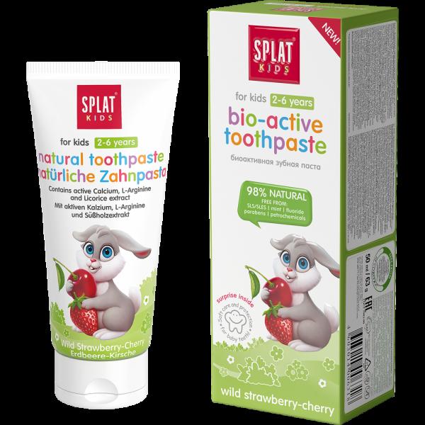 SPLAT Kids Zahnpasta: Wild Strawberry-Cherry