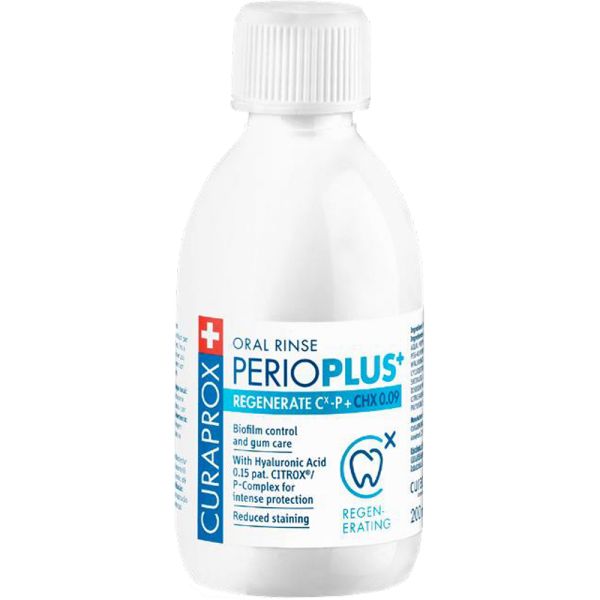 CURAPROX Perio Plus Regenerate CHX 0.09 Mundspülung: 200 ml