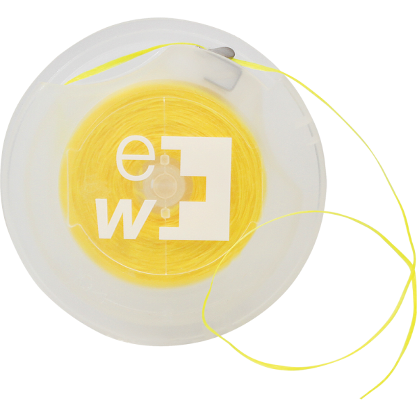 edel+white Waxed Easy Tape: Caipirinha, gelb, 70 m, Blister