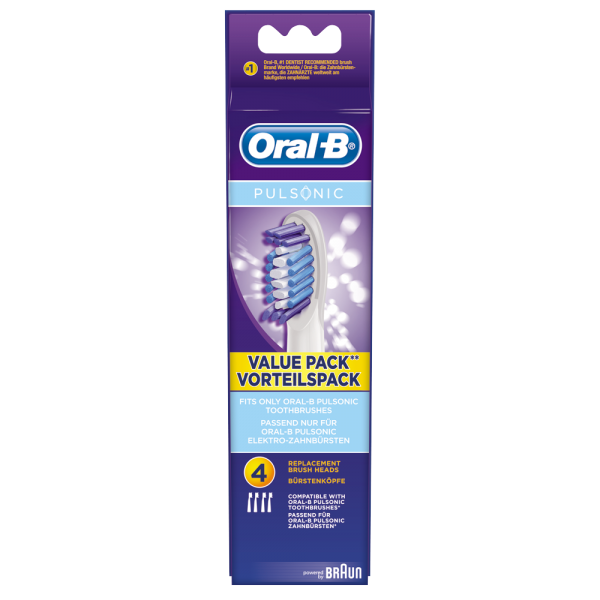 Oral-B Bürstenköpfe Pulsonic: 4 Stück