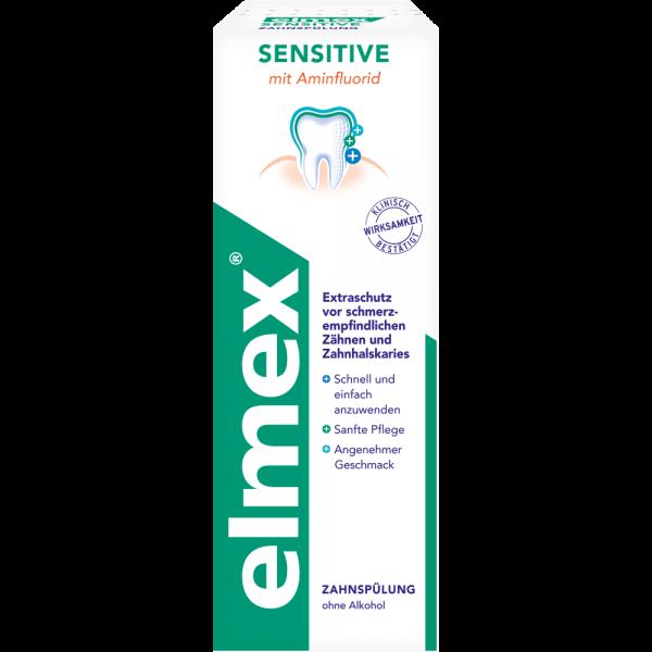 elmex SENSITIVE Plus Mundspülung: 400 ml