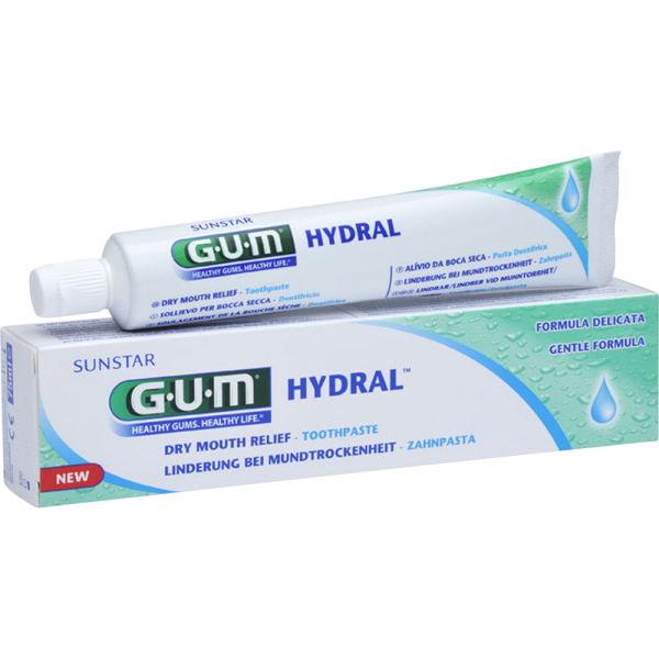 GUM Hydral Zahnpasta: 75 ml Tube