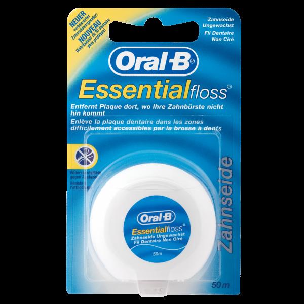 Oral-B Essentialfloss ungewachst